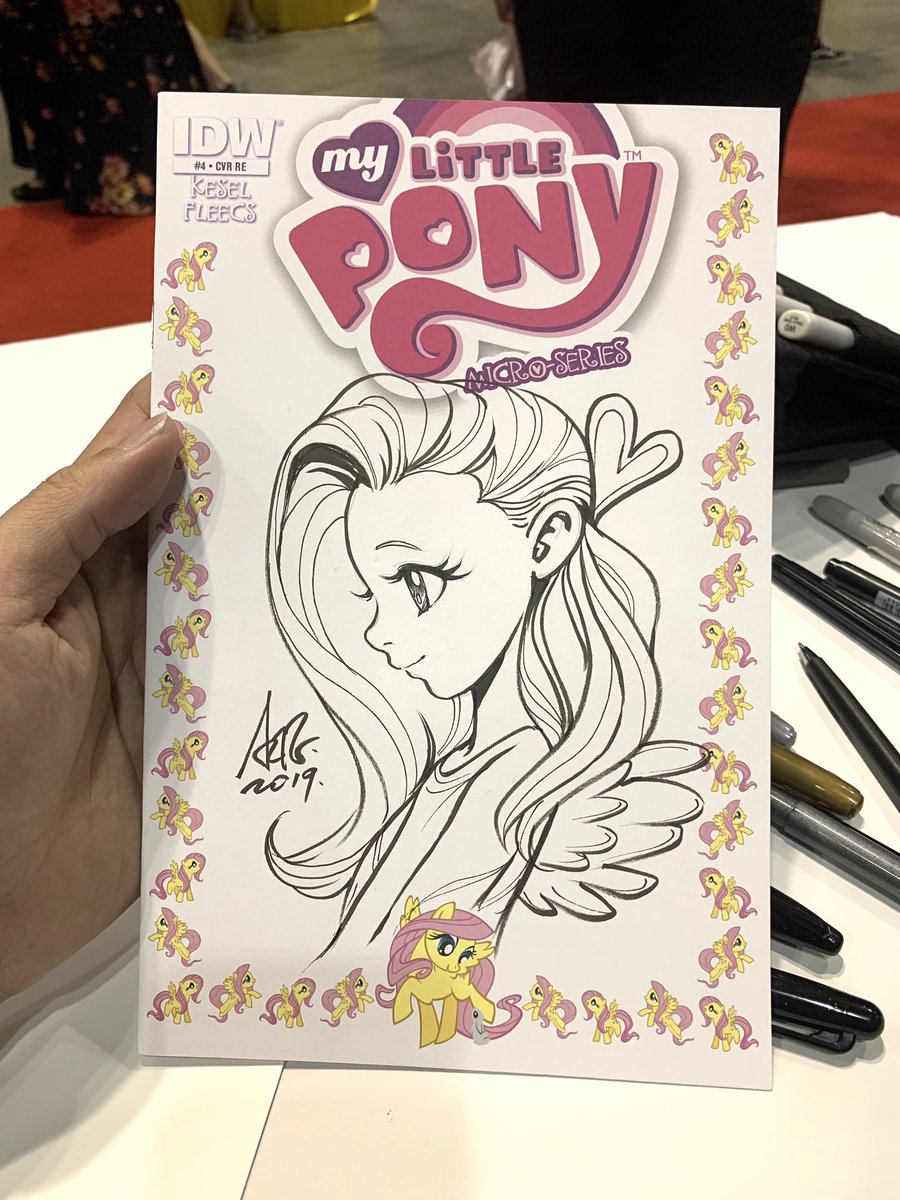 An unexpected commission request. #mylittlepony #fluttershy <br>http://pic.twitter.com/hNX2vYFq1D
