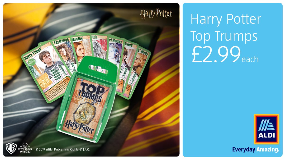Like and RT for the chance to WIN a pack of Top Trumps. There are twenty sets to give away. In store Sunday. T&Cs apply: https://bit.ly/2E1jFu7