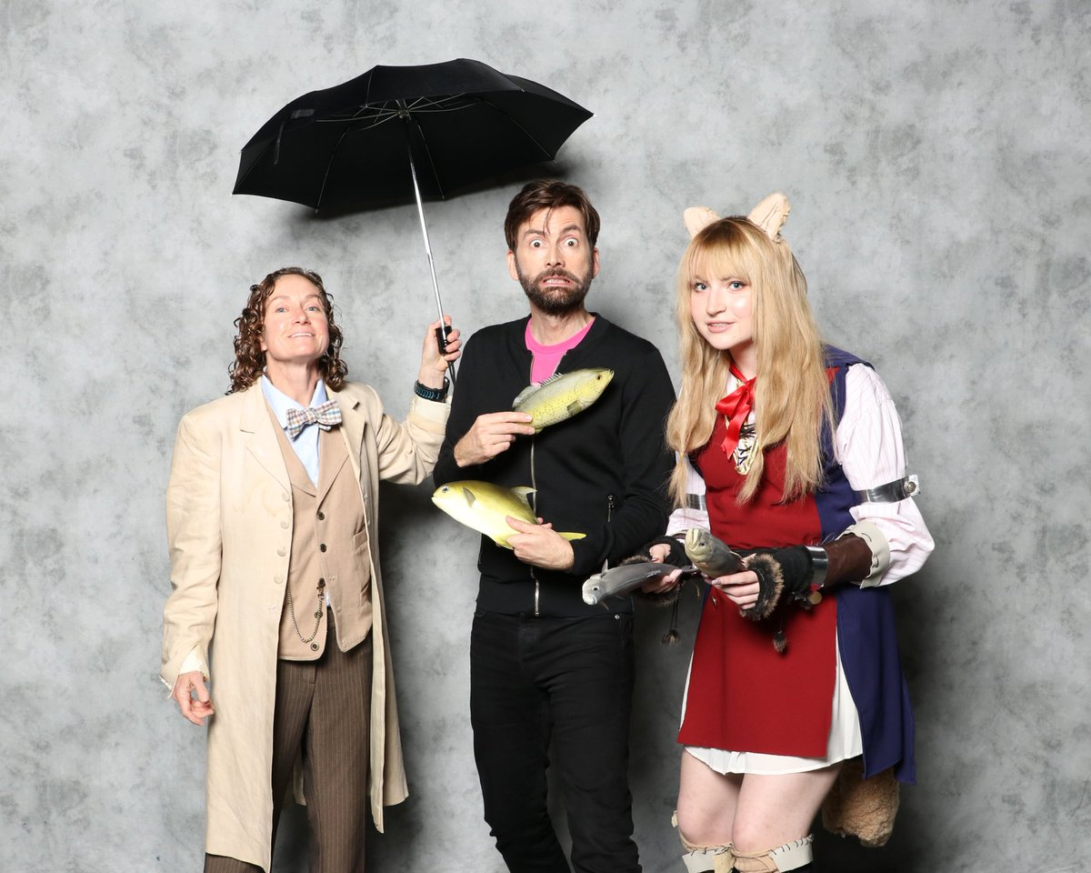 David Tennant at MegaCon Orlando - Saturday 18th May 2019