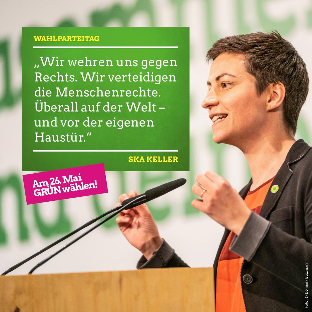 Bei dieser Wahl entscheiden wir über die Richtung, die Europa einschlägt. Zurück in eine Vergangenheit, die es nie gab. Oder vorwärts für ein ökologisches, soziales und demokratisches Europa. 🇪🇺 #klimaschutzWählen #ZusammenhaltWählen