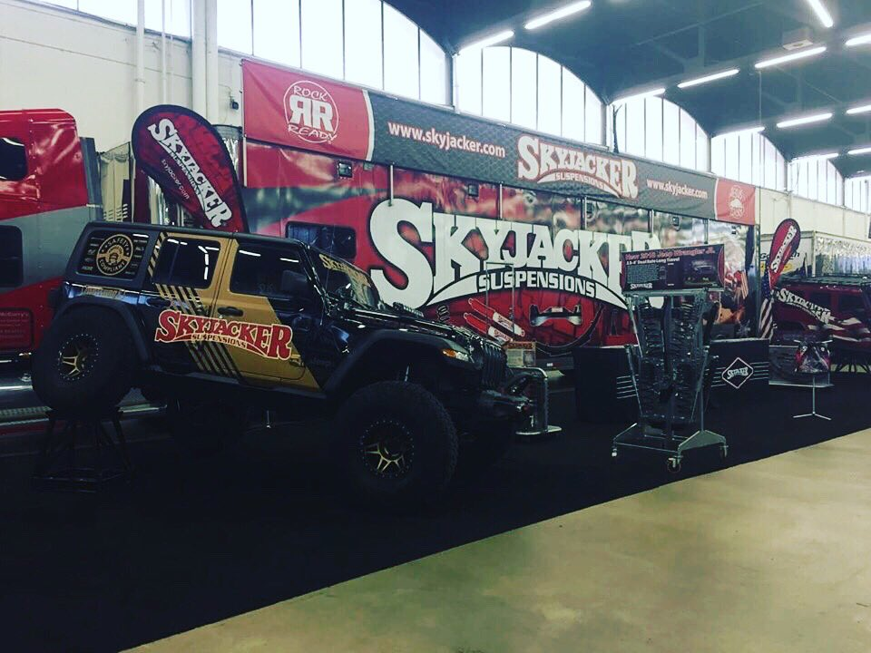 Come out to see us at the Dallas Truck &amp; Jeep Fest!! #skyjacker #familyfun #saturdayfunday #getlifted<br>http://pic.twitter.com/jYO6A8VnwG