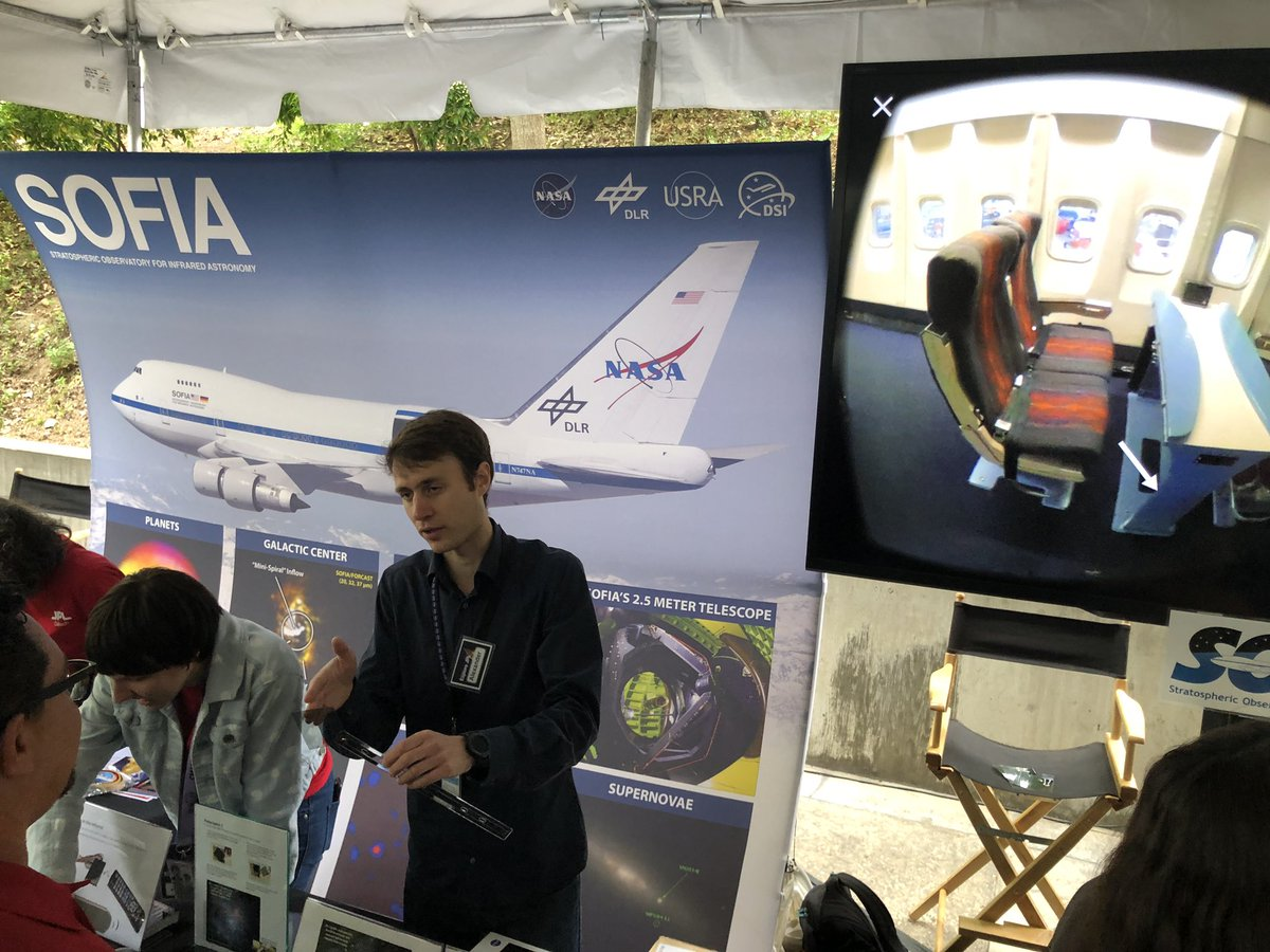 Another look at @SOFIAtelescope #ExploreJPL #JPLOpenHouse