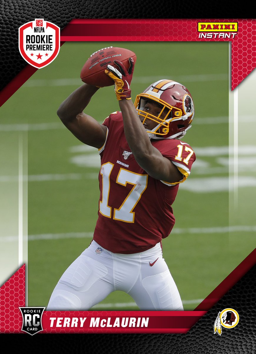 Cant put into words how great it feels to finally put on my @Redskins gear at @NFLPA #RookiePremiere. Ready to get to work! Check out my #PaniniInstant card. qr.paniniamerica.net/2cv8f