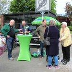 Image for the Tweet beginning: Europäischer Samstag in #Seeheim-#Jugenheim. Heute morgen
