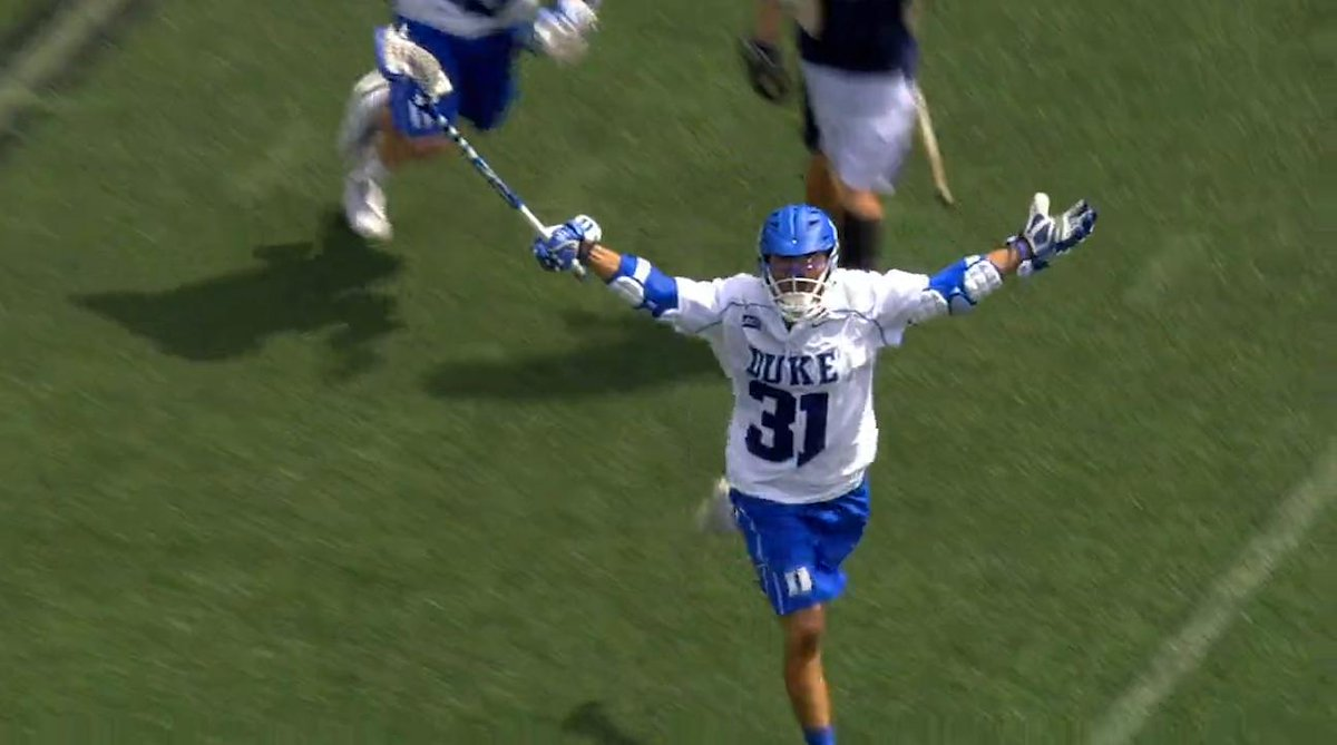 .@DukeMLAX vs @NDlacrosse Part III   It's gonna be good.
