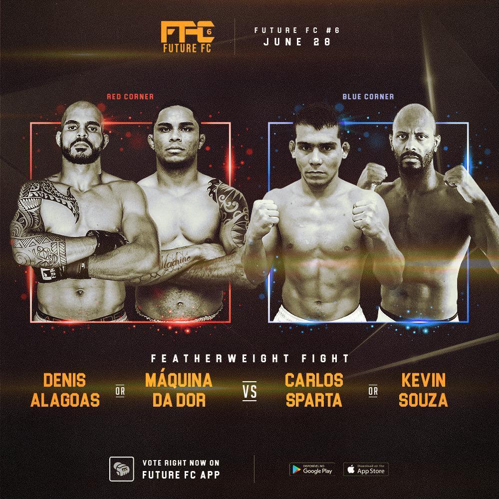 O Future FC realizará sua sexta edição dia 28 de junho no Centro Universitário Ítalo Brasileiro, em São Paulo, com uma novidade, pois o público poderá votar para formar o card principal do evento. #E24 #MMA #UFC #MMABrasileiro #MMANacional #FutureFC #WeAreTheFuture #News