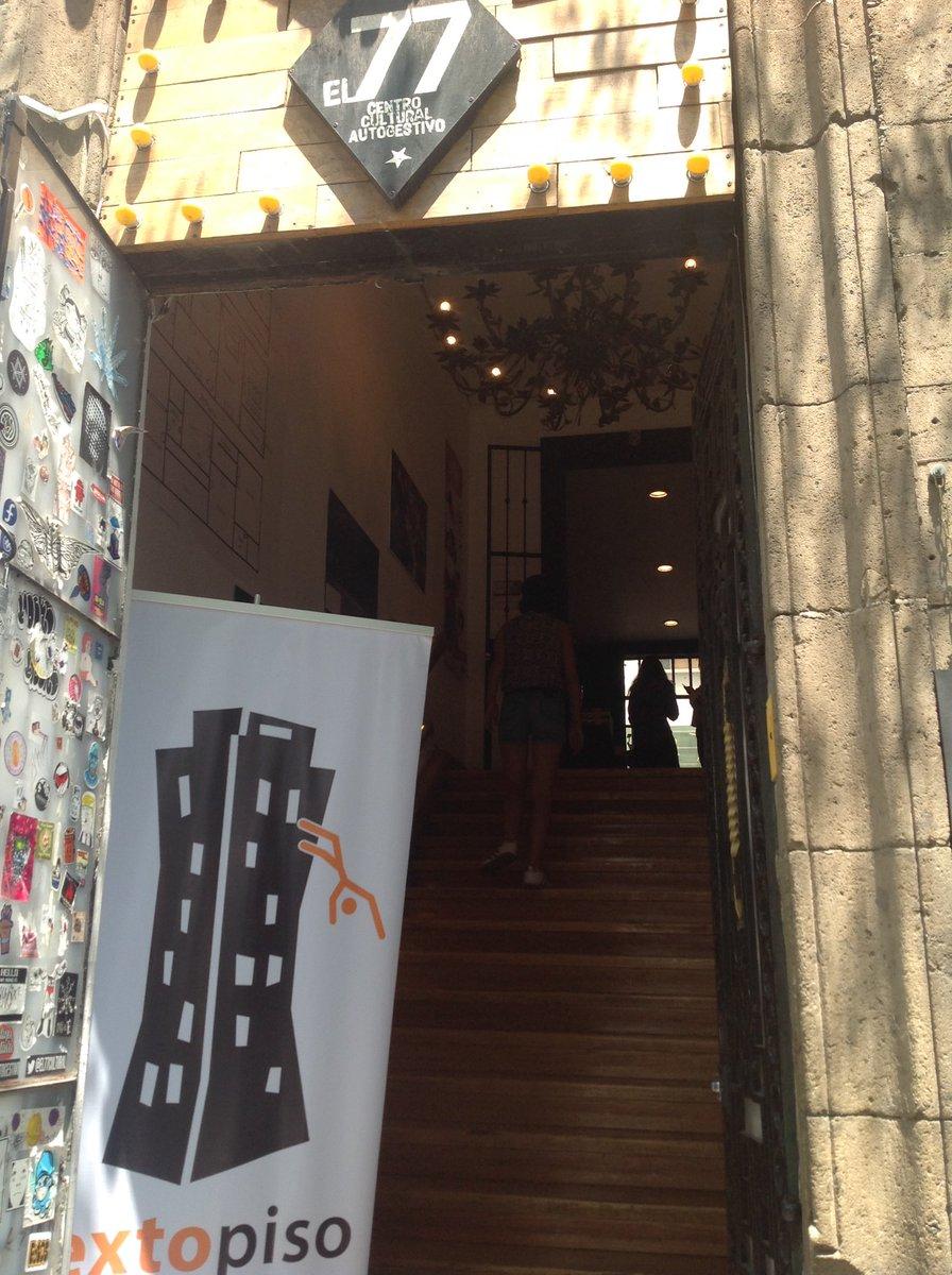 ¡Ya comenzó el Open House Sexto Piso, en el @el77cultural! Tenemos descuentos, @cervezadecolima y mezcal @Enmezcalado! #SaltaConNosotros