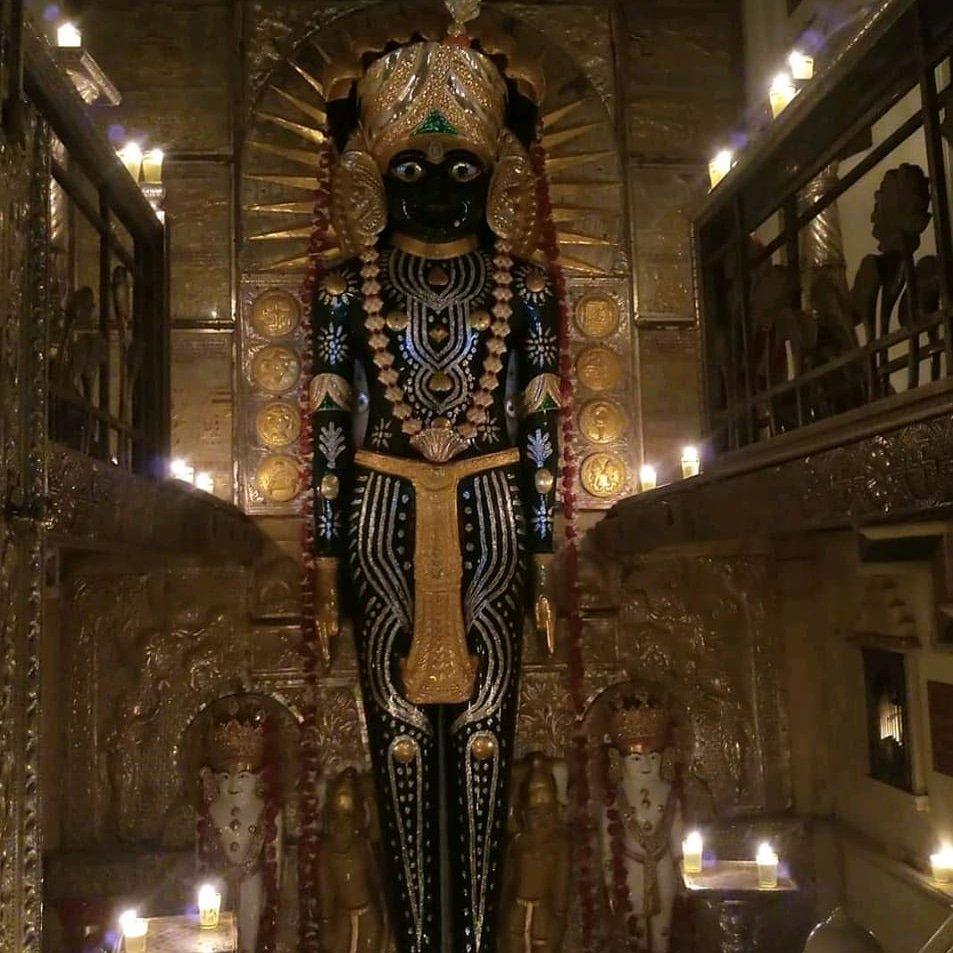 #Nageshwar #Tirth #Poonam #Aangi  Today's Aangi at Nageshwar  Namo Jinanam
