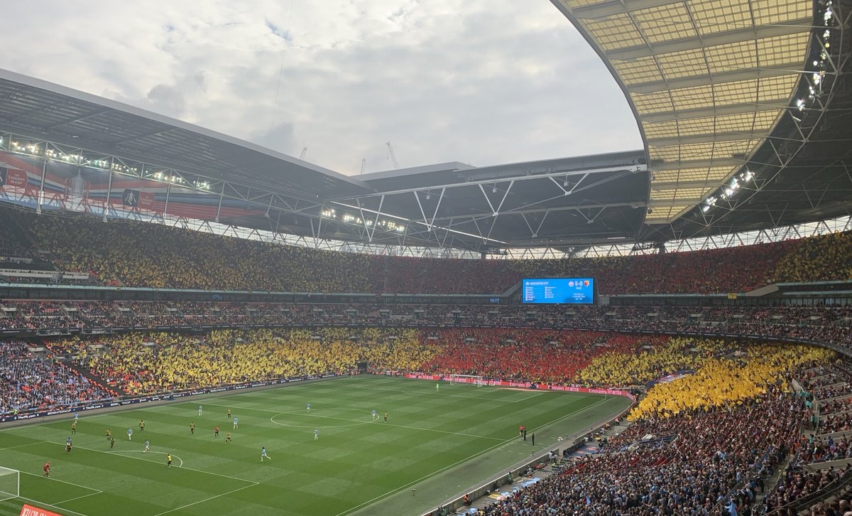 #WatfordFC might be losing, but amazing support from their fans