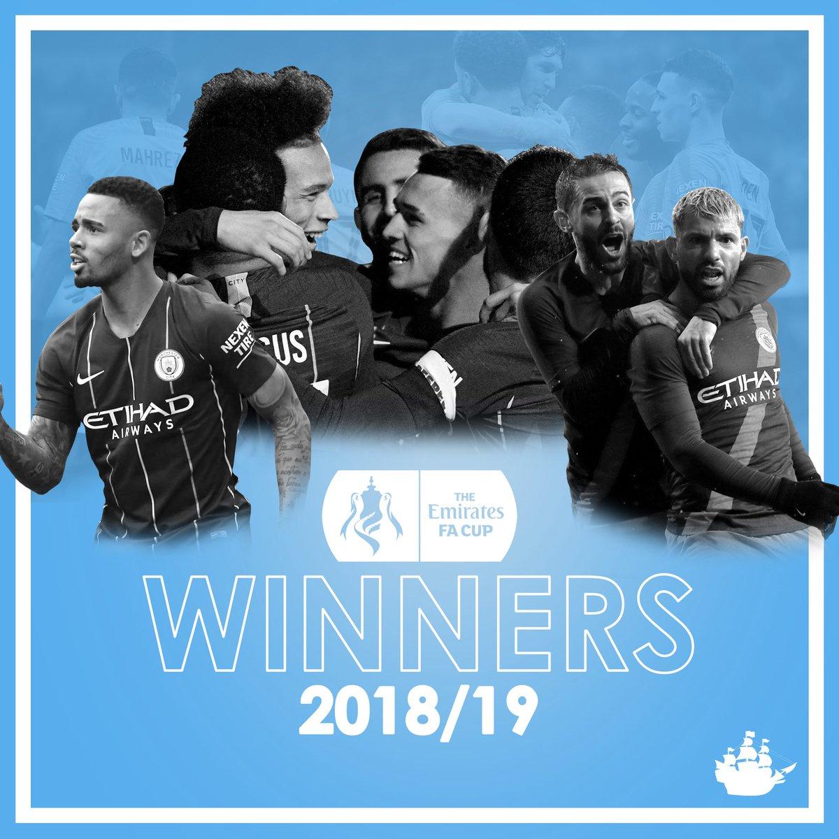 FA CUP WINNERS!! DOMESTIC TREBLE WINNERS!!! #FACupFinal #ManCity