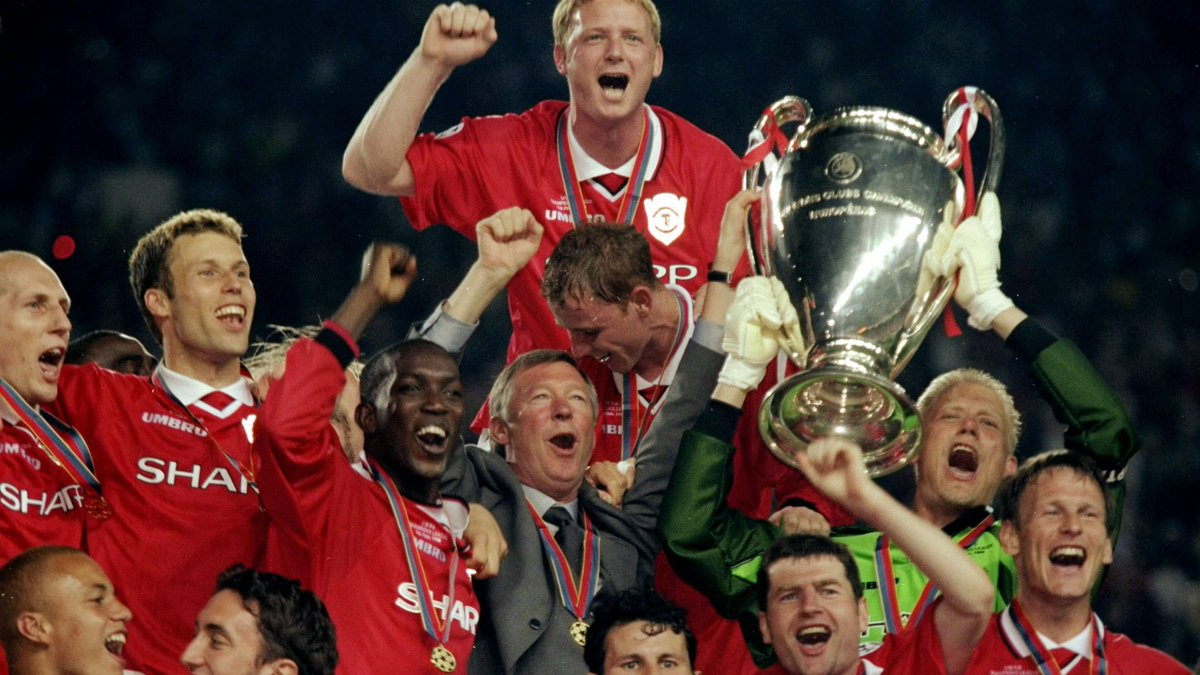 Whose 'treble' was better?  RT - #MUFC Like - #MCFC