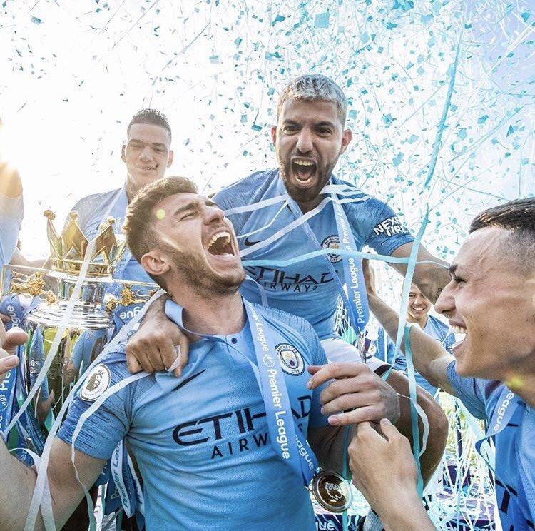Manchester City in the 2018/19 season:  Premier League  FA Cup  League Cup  Community Shield  Levels.#FACupFinal #FACup