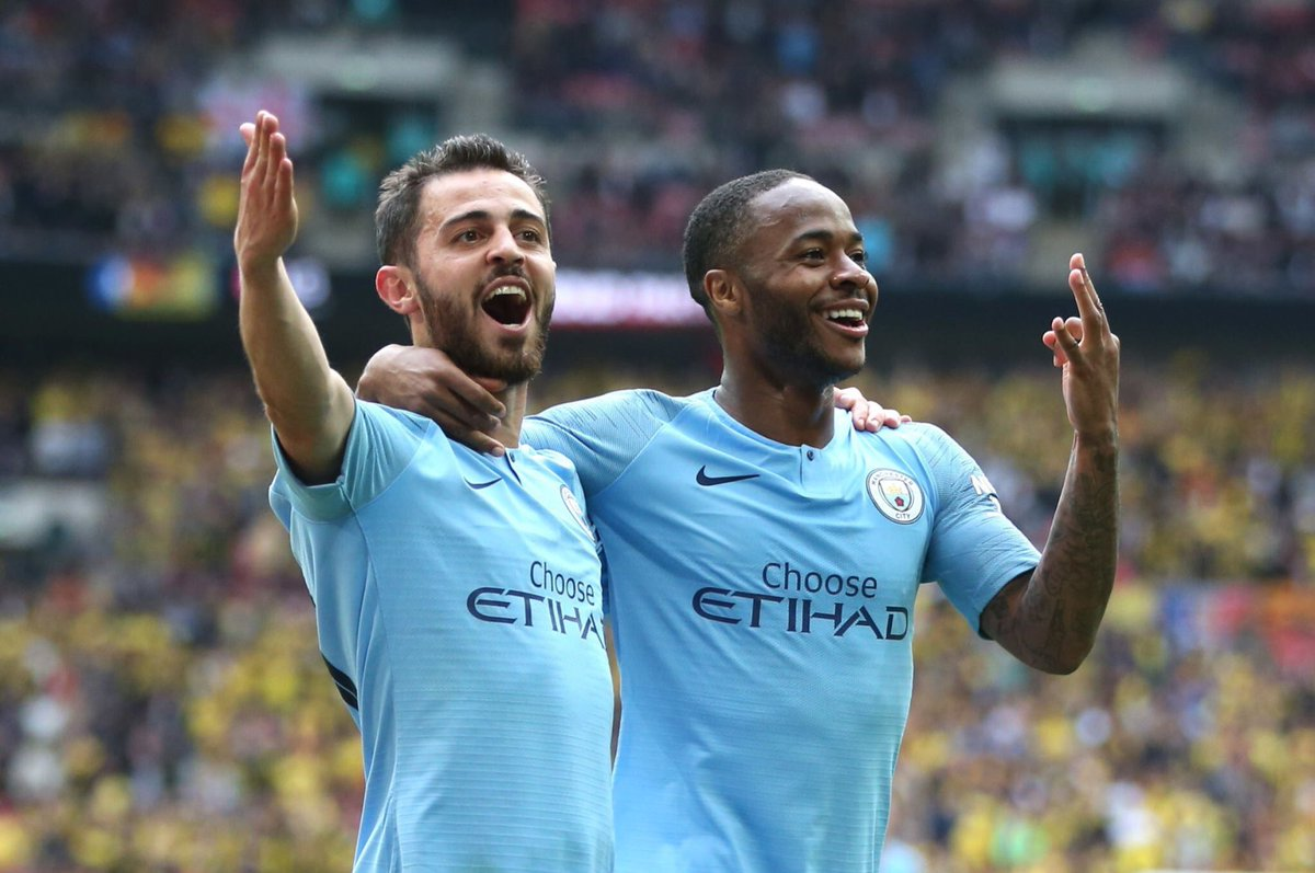 You are witnessing greatness.#MCIWAT #FACupFinal