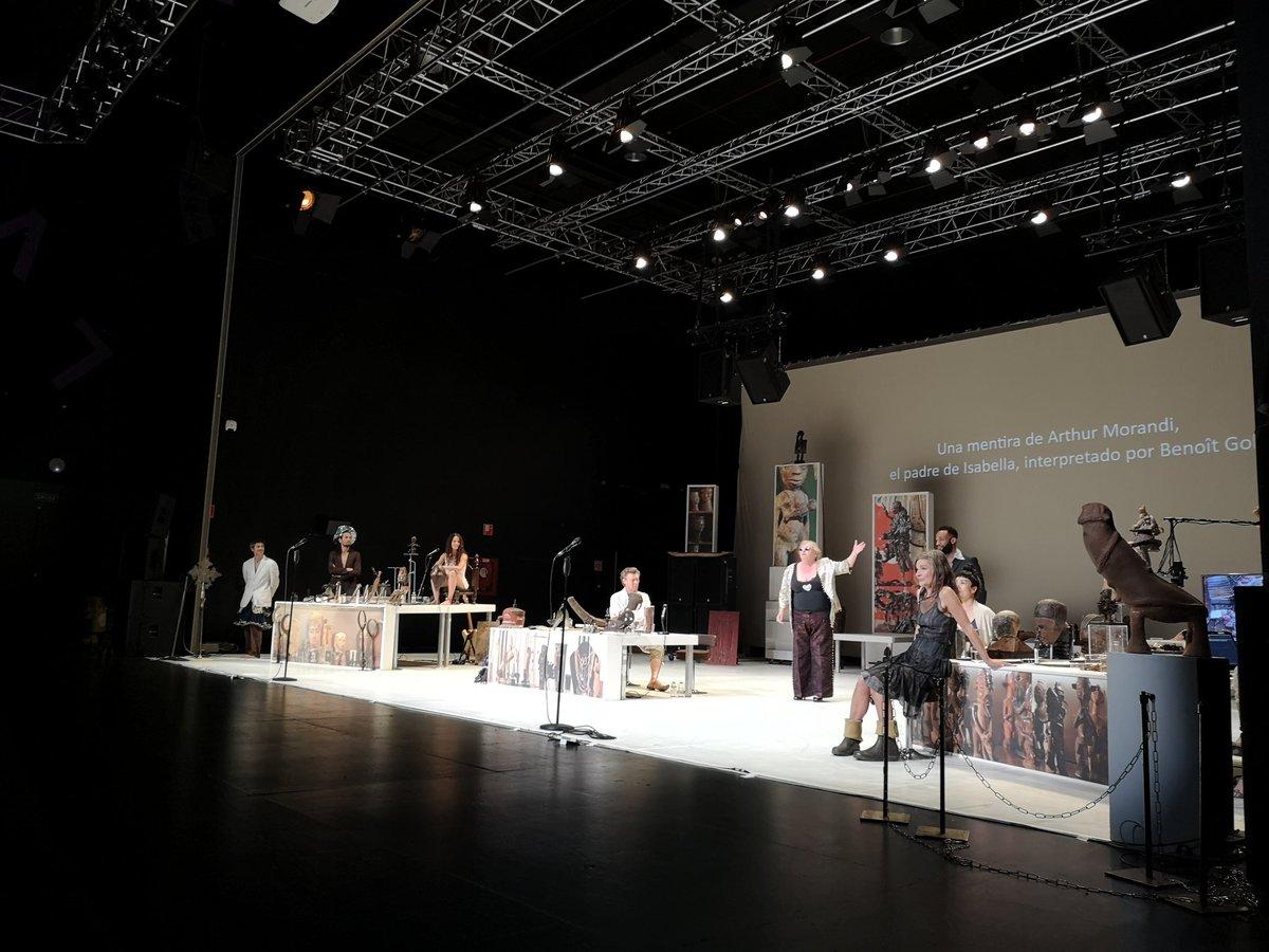 Isabellas Room con #JanLauwers & #Needcompany (Bélgica). #20TAC🙌