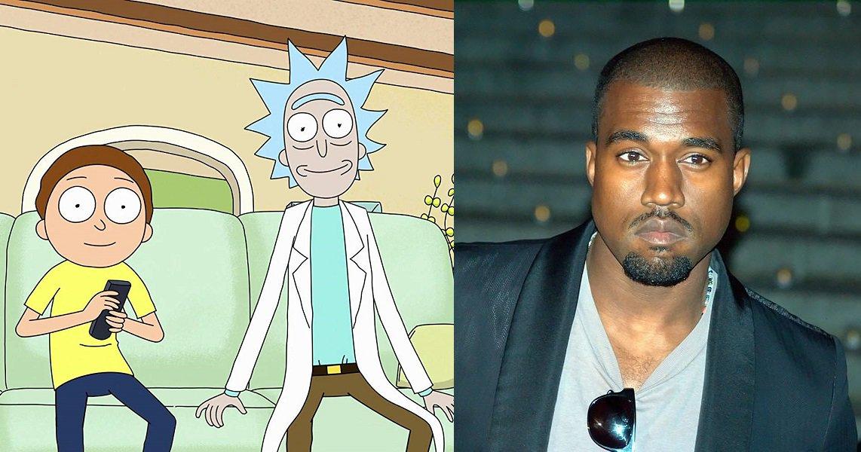Criadores de Rick and Morty querem que Kanye West escreva um episódio https://t.co/C3oDS0VfW5 https://t.co/eSRsRGtdkP