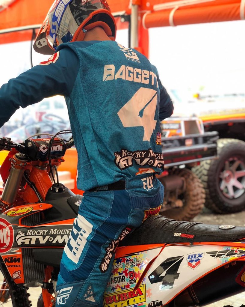 REPOST: @blakebaggett4 Proud to be a part of @teamrmatvmc as we team up with @51fiftyenergy and #carlosvieirafoundation to dedicate the opening round of Pro Motocross Season to Autism Awareness 🧩 Time to go racing ✊🏼#AutismAwareness #RaceForAutism #LiveTheMadness #51FIFTYEnergy
