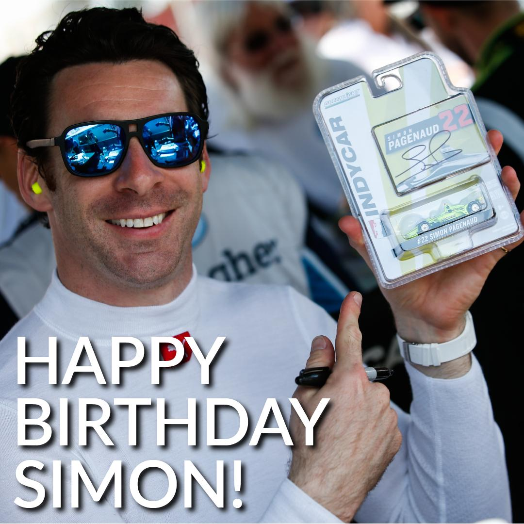 We would like to wish @simonpagenaud a happy birthday! 🎉🎈