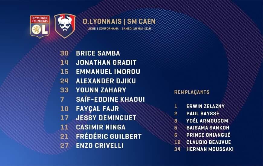 [37e journée de L1] O Lyon 4-0 SM Caen D63kQxyWkAALCju