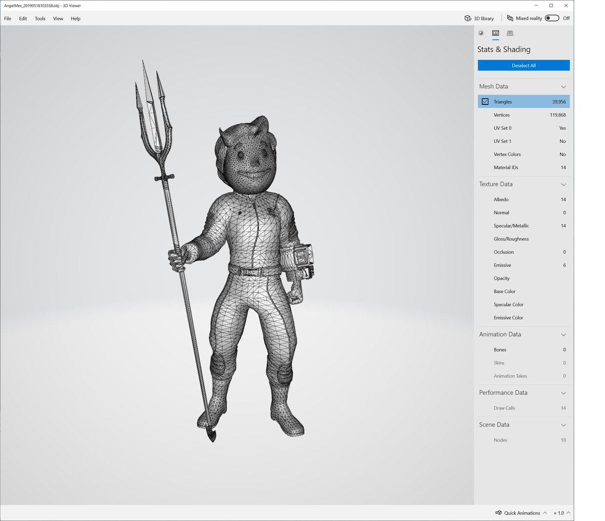 dda75b4f ... your own 3D projects or #3dprinting: #Fallout76 Vault Suit + #PipBoy:  #FREE #DC #Aquaman trident: Free #Fallout Vault Boy mask: $2.99 Links in  comments.