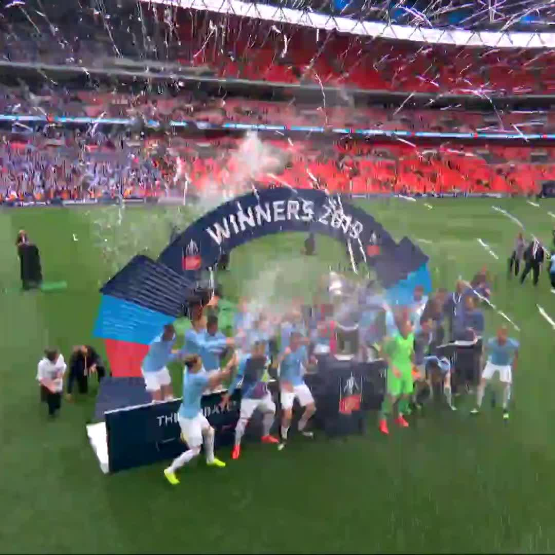What a day! 😍🏆 🔵 #ManCity #OnThisDay