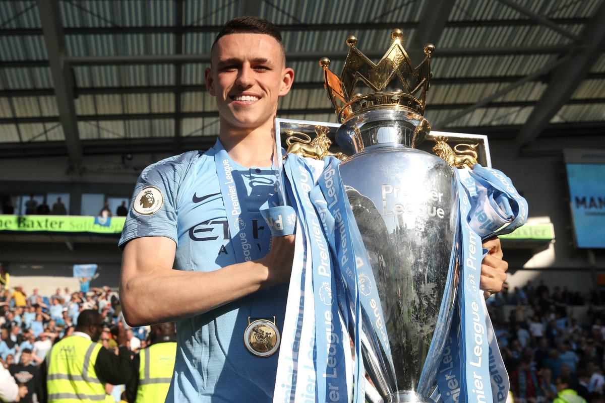 🏆 By the age of 18, Wayne Rooney, Steven Gerrard, Frank Lampard, Michael Owen and Alan Shearer had all won 0 trophies. Phil Foden has just won his 6th trophy! #FACupFinal