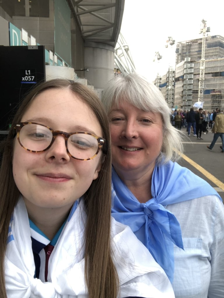 Madeleine Whitehouse's photo on manchester city