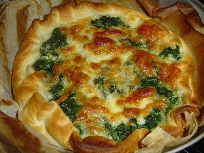 La mia torta salata mozzarella e spinaci 😋🤗❤ #buonaserata #sabatosera #tortasalata #mozzarellaespinaci #cibosano #ciboitaliano #myfollowers #UnBacioFatato