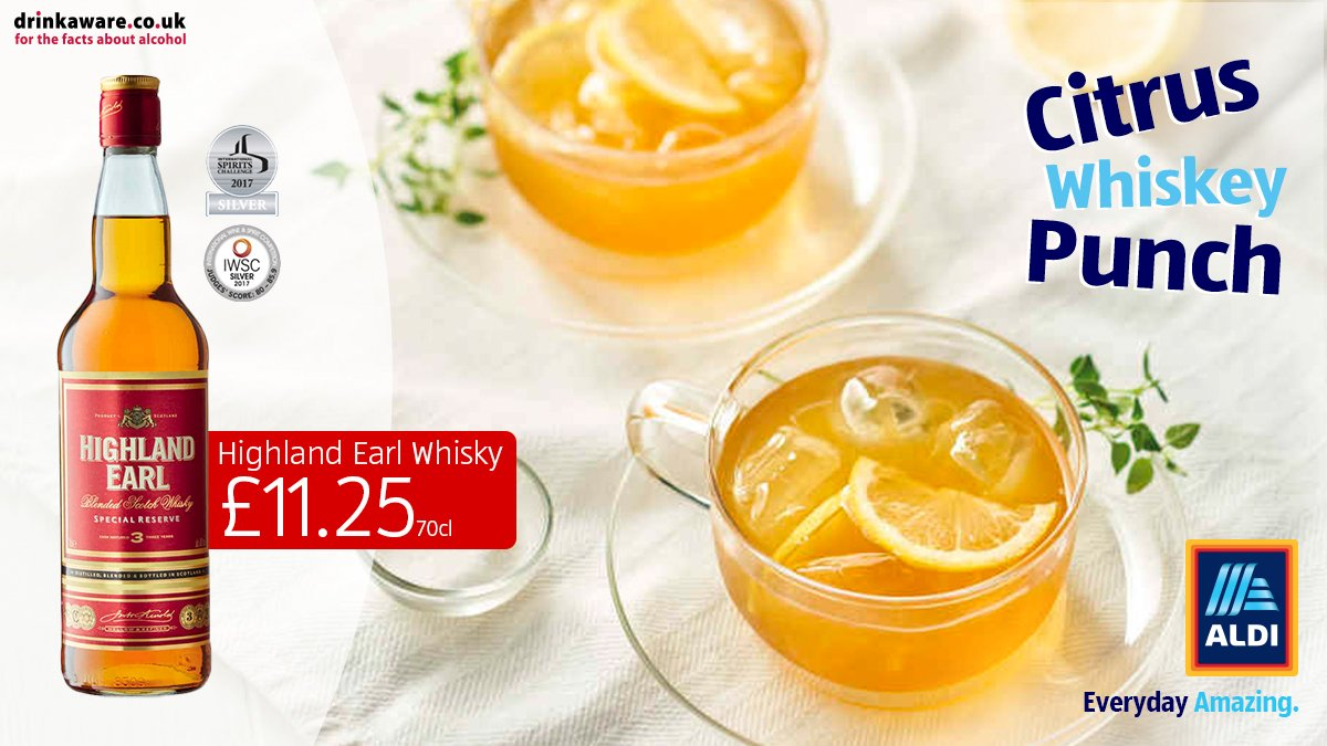 This fruity punch is the perfect tipple for #WorldWhiskyDay. Will you be trying it? http://bit.ly/2Vyk3q5