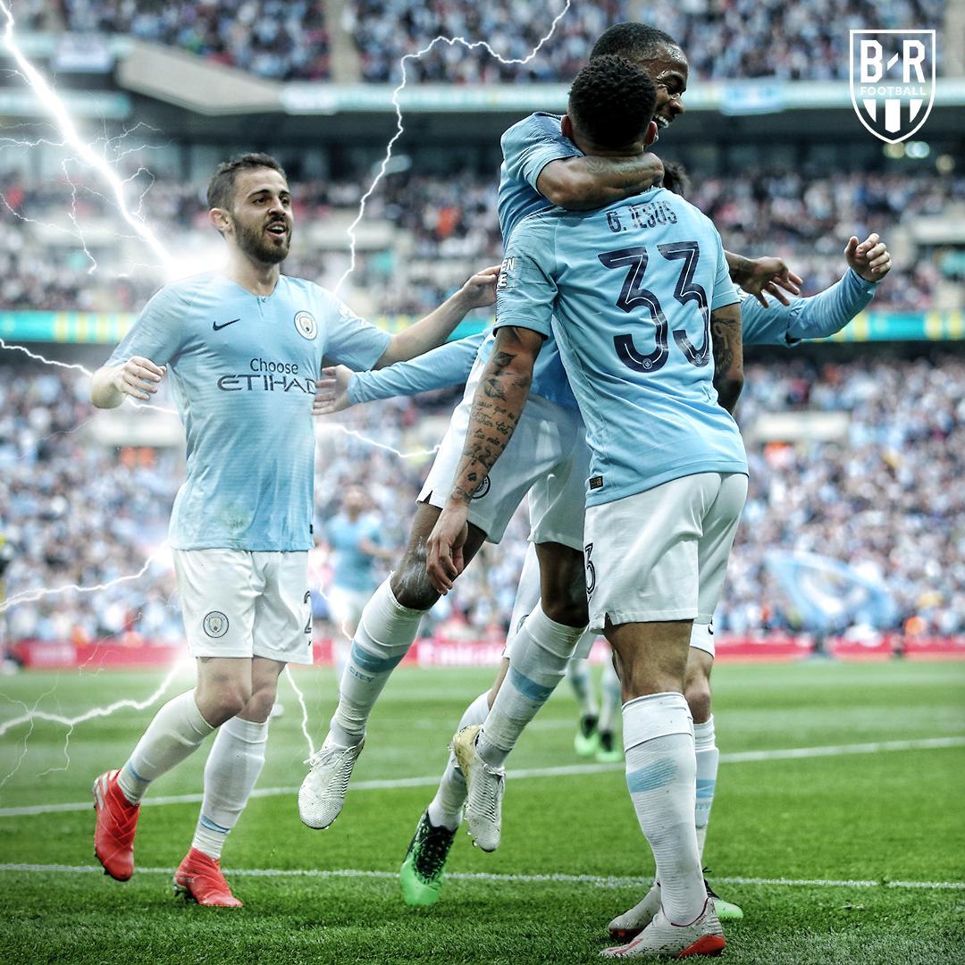 Bernardo showed he can do it all at Wembley ✨