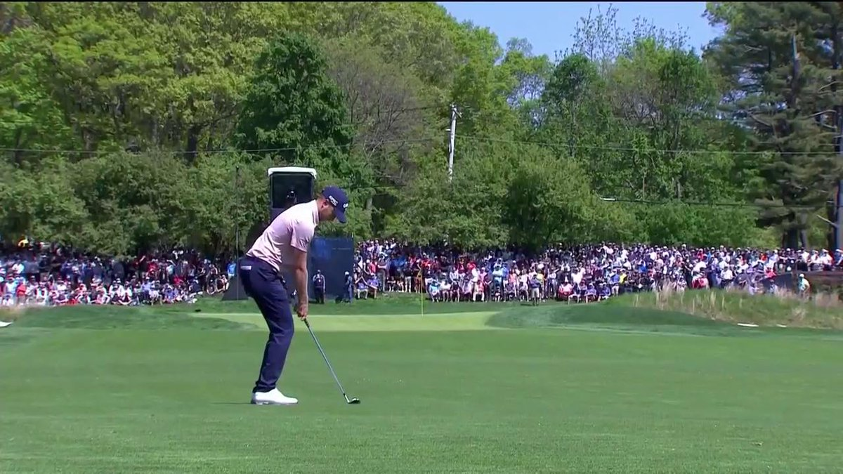 PGA Championship 2019: Daniel Berger just got one of the worst breaks of all time on Bethpage Black's first hole