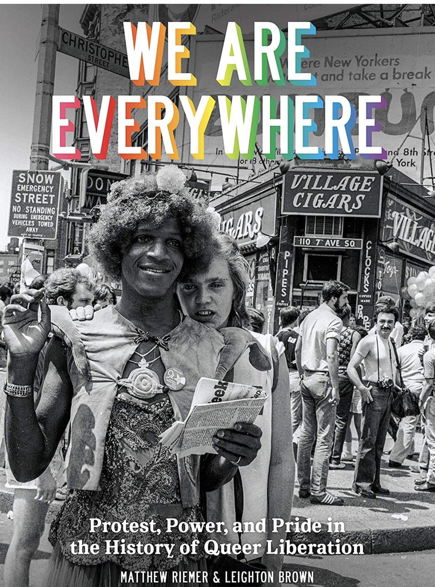 A great new book called #WeAreEverywhere   just came out. It's an eye-opening look at #LGBTQ  history. It's moving and inspiring. I think it's more important than ever before to know our history. @queer_history . Check it out at   https://bit.ly/2UscamN