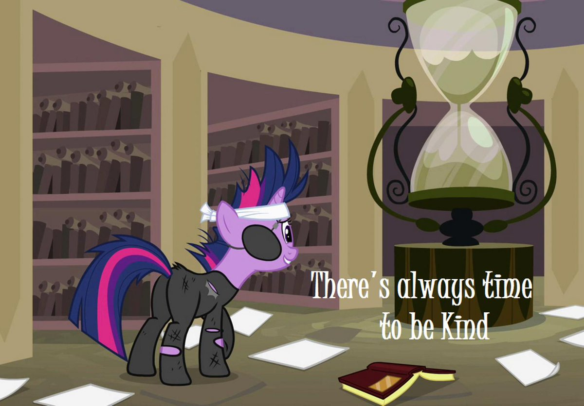There&#39;s always time to be kind - Twilight Sparkle #MLPFiM #kindness<br>http://pic.twitter.com/TDR1IT0WRU