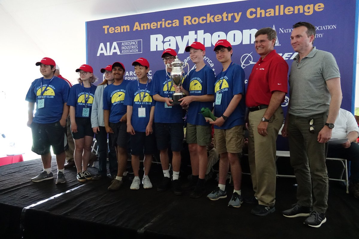 Congratulations to the #TARC2019 National Champions from Madison West High School!