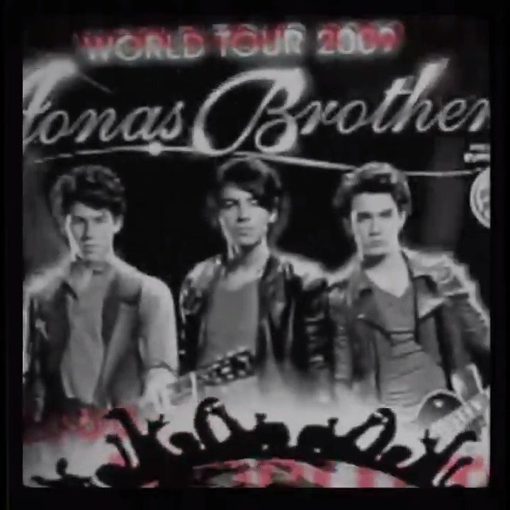 Jonas Brothers's photo on #JonasTourMemories