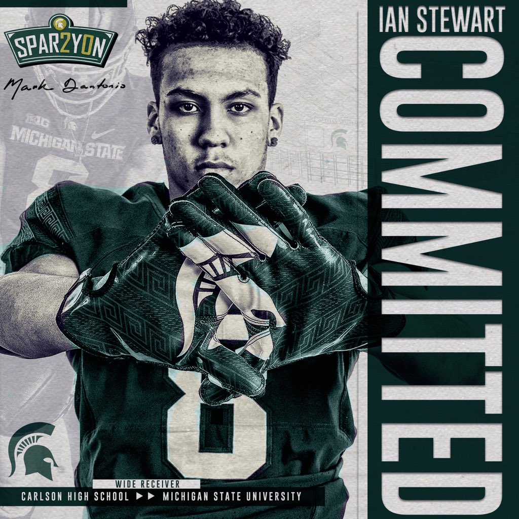 Ian Stewart, Class Of 2020 WR, Announces His Commitment
