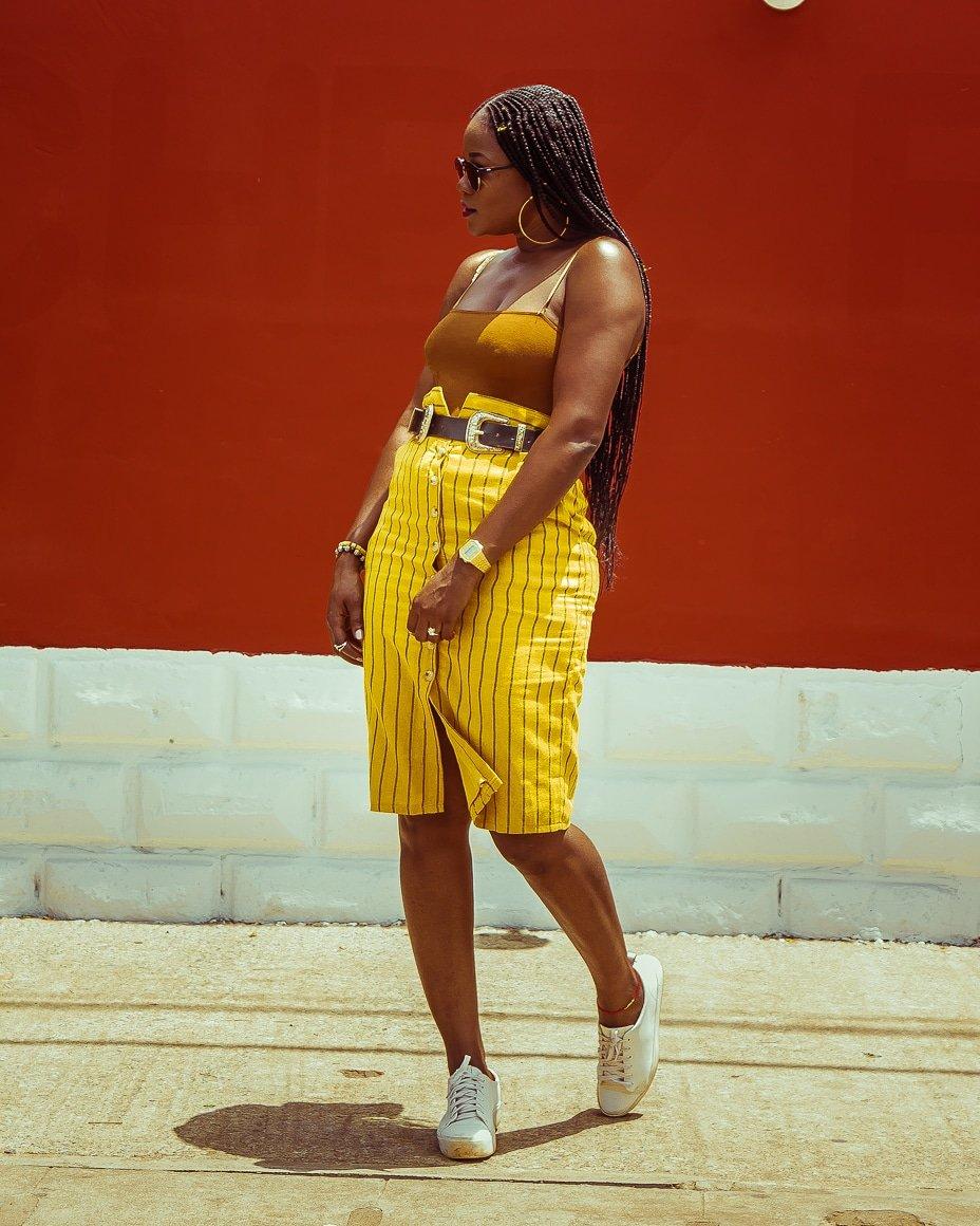 #emersonlawsonby #yellowmakeup #yellowaddicted #streetstyle #melaninpoppin #fashion #Togo #mode #influenceuse #bloggerstyle #blogger #woman #vogue #photovogue #styleblog #streetfashion #letscreate #luxurylifestyle #fashiongrammer #streetfashionstyle #sundayz @_Mvso_