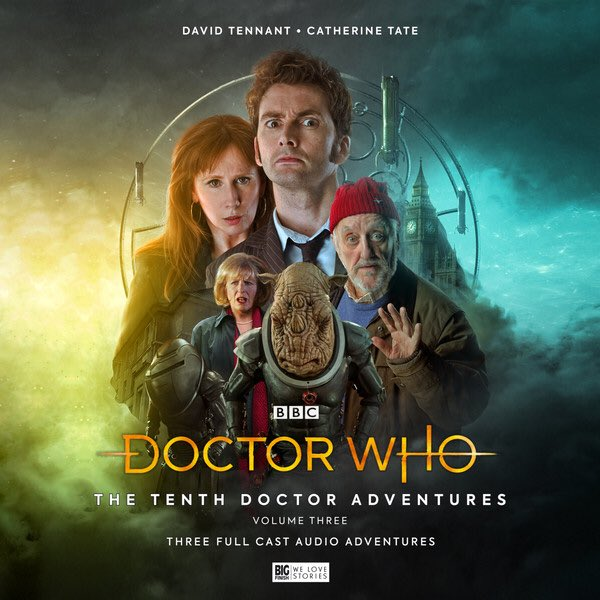 Anyone else grinning and laughing like an idiot the entire time they're listening to Doctor Who: The Tenth Doctor Adventures Volume 03 from ⁦@bigfinish⁩ or is it just me?