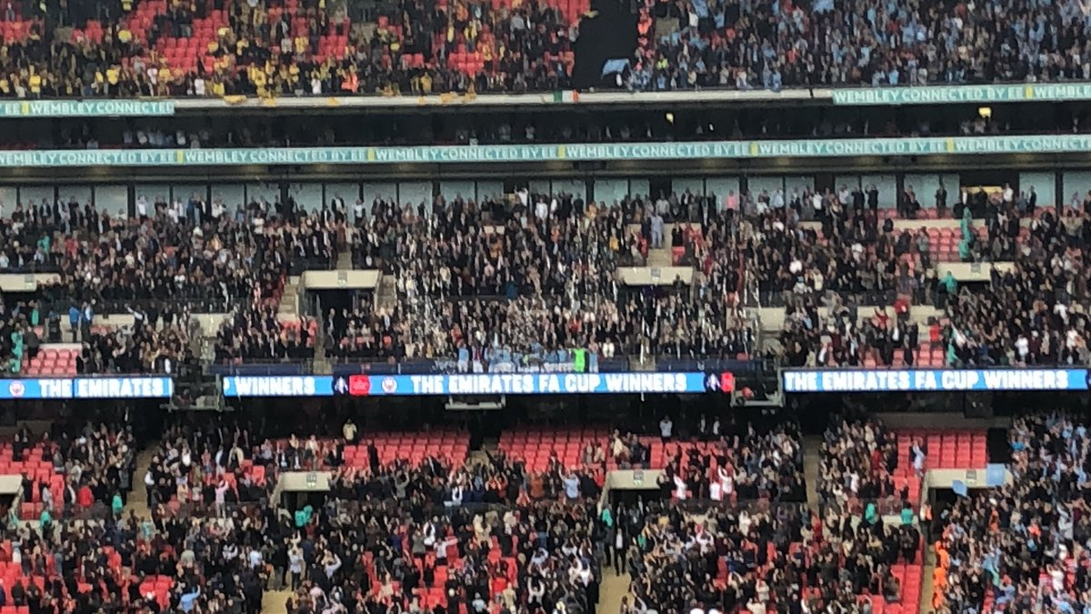 This is a special vlog - Enjoy #ManCity #FACupFinal2019 #WFC #EmiratesFACupFinal  Man City 6-0 Watford   Blues complete the treble! https://youtu.be/Q-ku_sT79Gk