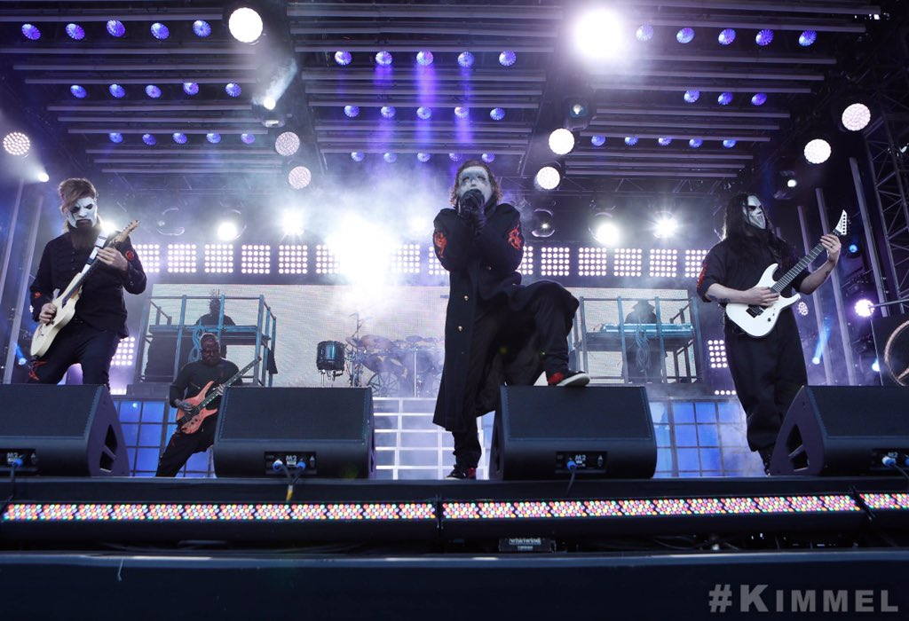 """In case you missed it, watch the live premieres of """"Unsainted"""" and """"All Out Life"""" now. #WeAreNotYourKind #KIMMEL  """"Unsainted""""  https:// youtu.be/t583qIyb7MY  &nbsp;    """"All Out Life""""  https:// youtu.be/WEypTy4swDA  &nbsp;  <br>http://pic.twitter.com/vLMw1gLizE"""