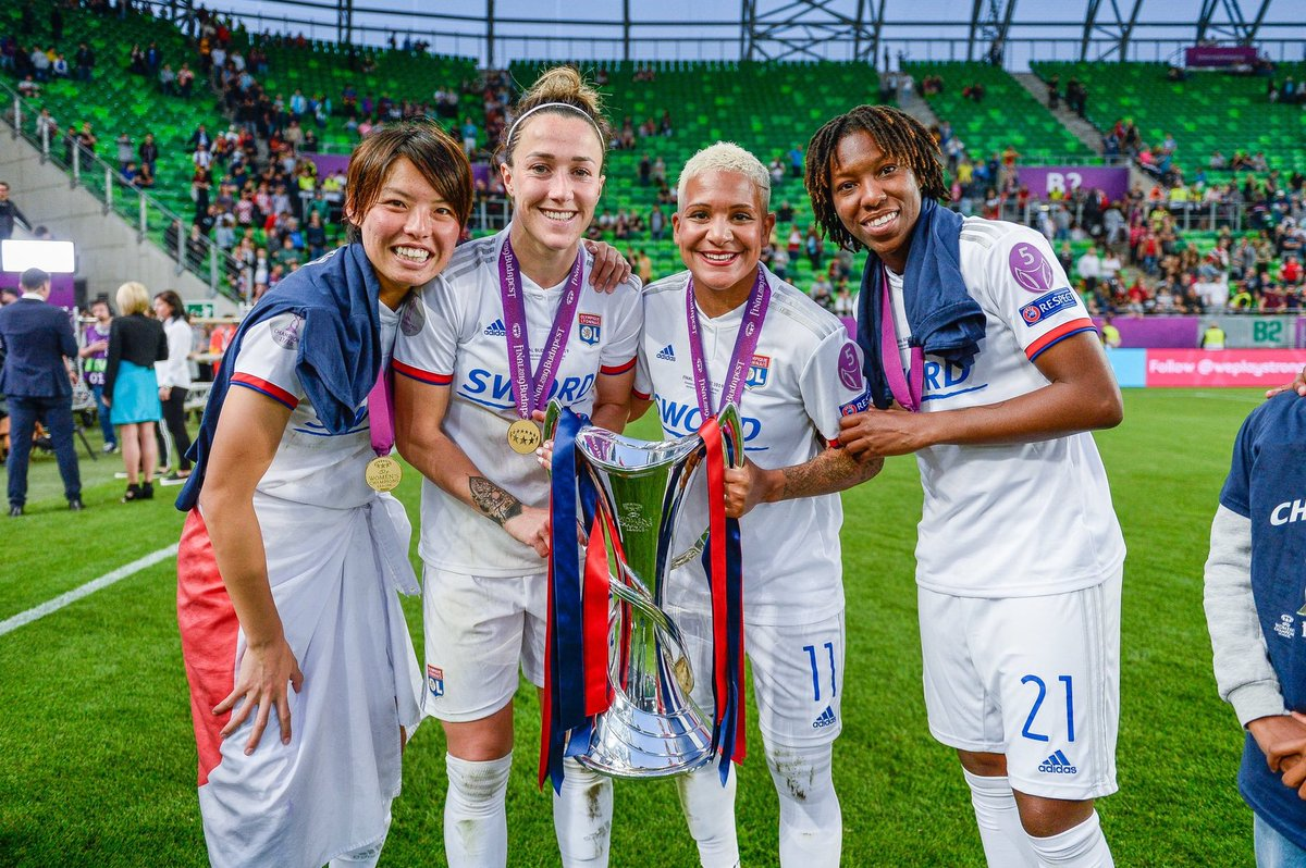 @Lionesses @OL 2019 Champions League winners ✔️ @OL