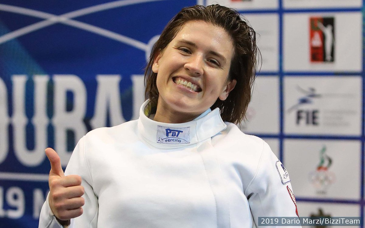 👍 SILVER MEDAL 👍  Congrats to 2x Olympian Courtney Hurley on earning her 🔝 @FIE_fencing World Cup finish from Dubai earlier today!  http://go.teamusa.org/HurleySilver
