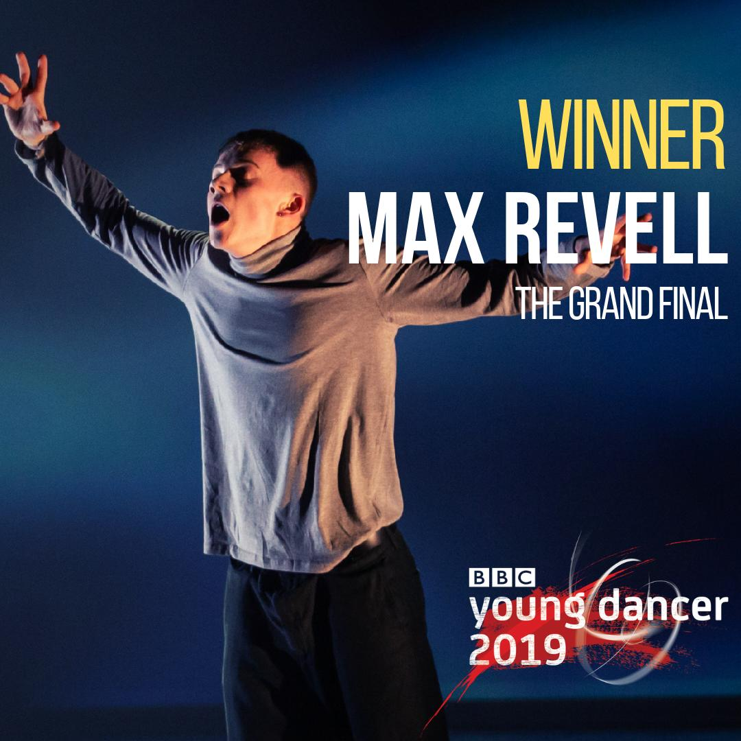 He arrived at the Grand Final as the Wildcard pick. He walks away as the #BBCYoungDancer 2019 winner.  And what a winner.  Max Revell, you are inspirational.  Truly magnificent. 👏👏👏  Huge, deserved congratulations!   #YoungDancer https://t.co/KX4IiSBfkS