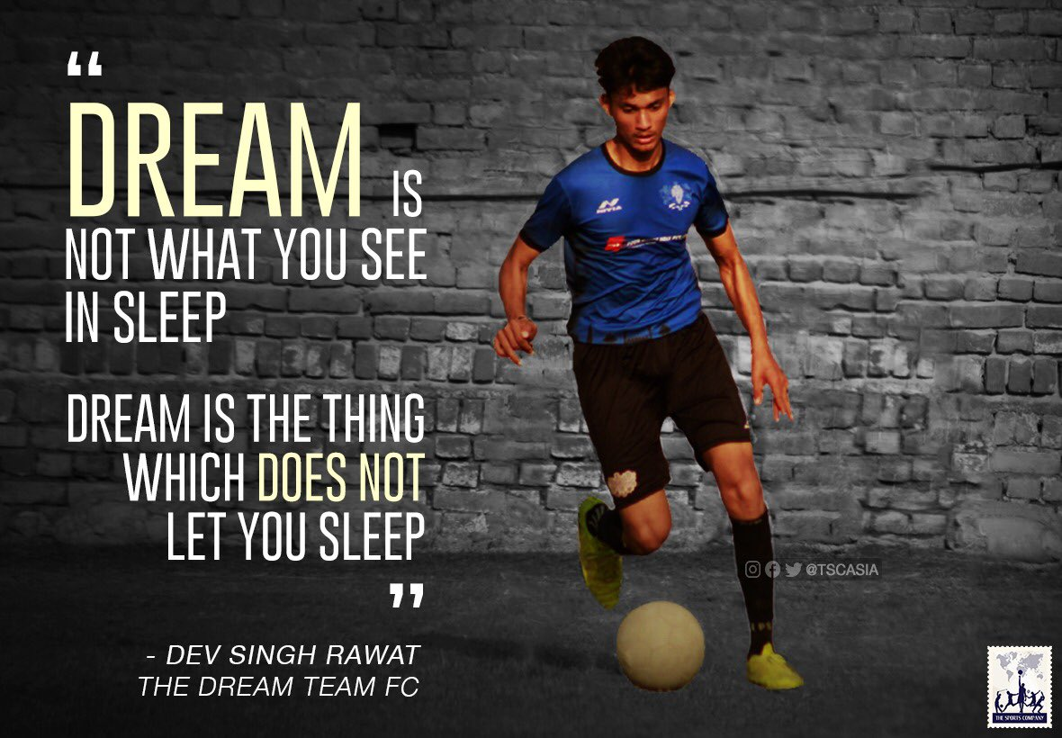 #TheDreamTeam #Saturdays  Dev Singh Rawat The Dream Team FC  #thesportscompany #thedreamteam #thedreamteamfc #dreamon #dream #desire #vision #sports #football #indianfootball #club #team #footballer #player #athlete #soccerskills #footballgame #footballseason #footballtraining