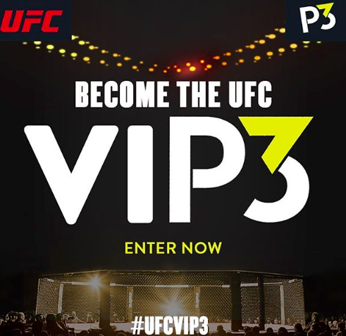 @P3Protein HUGE fan... and ENJOY. #UFCVIP3  #Sweepstakes