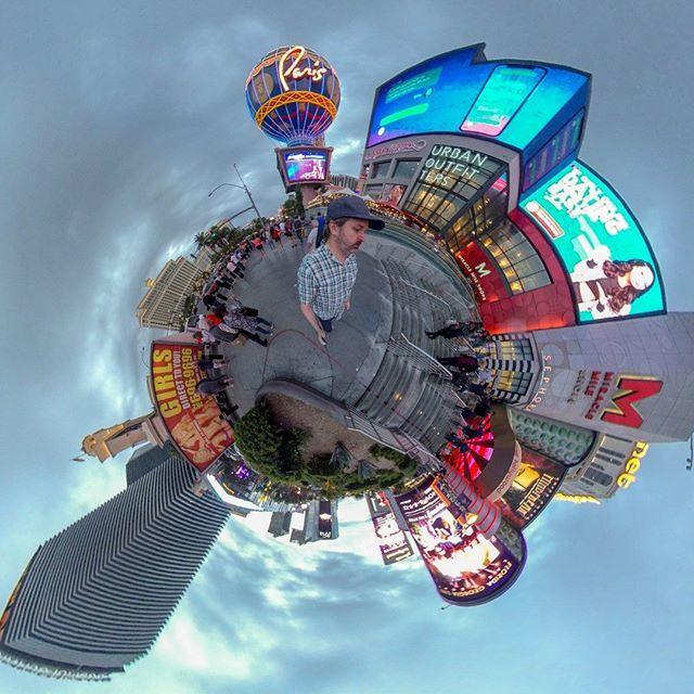 Tiny planet Las Vegas with Insta360 ONE X......#lifein360 #tinyplanet #insta360 #filmmaking #filmmaker #filmschool #directorofphotography #cinematographer #cine #cameraman #cameragear #mountain #360selfie #lens #desert #photographer #awesome #camer… http://bit.ly/2HrcI81