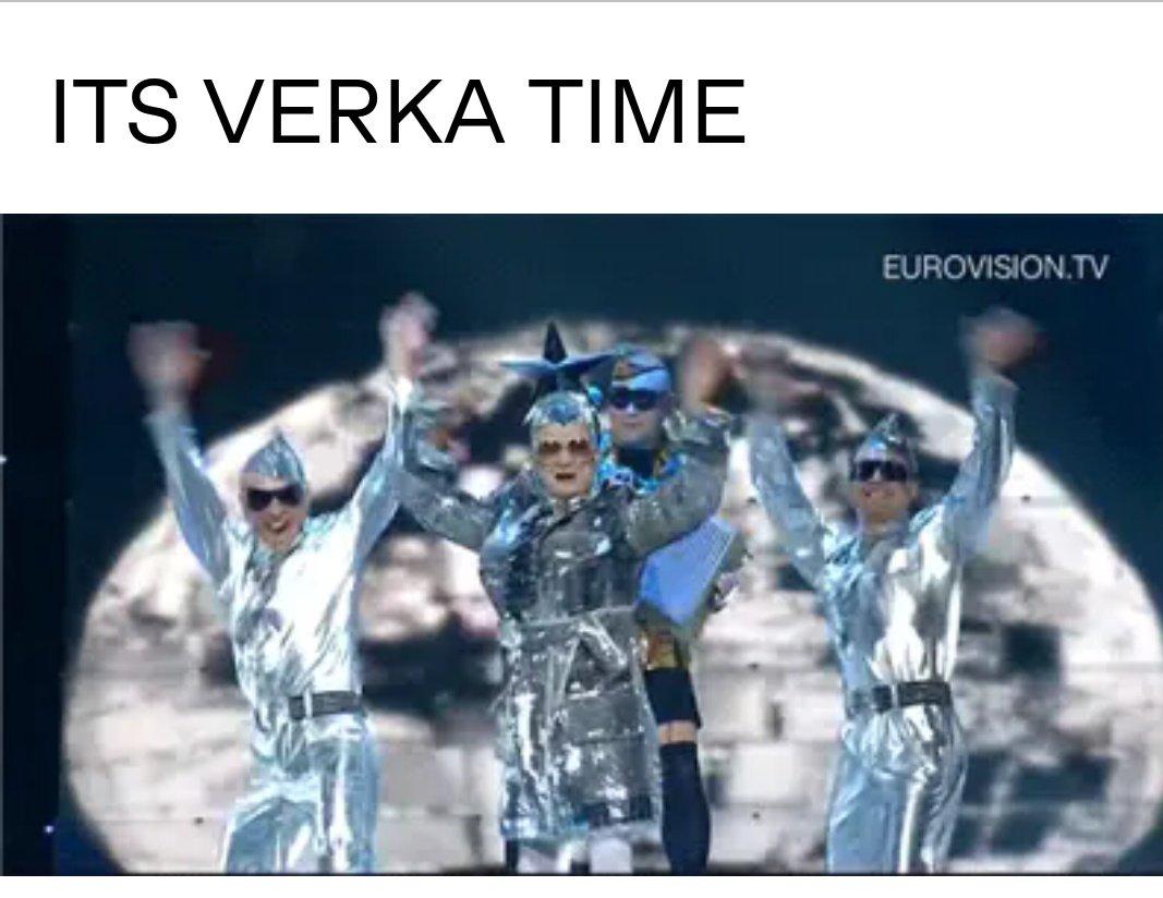 Верка: дышит Иностранцы: #Eurovision