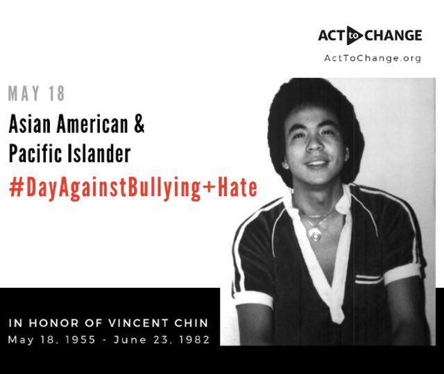 Pls read this its IMPORTANT! 1/2 of Asian American students, 1/2 of Muslim American students, and 2/3 of Sikh American students report being bullied. That isnt a typo...todays the 1st ever #AAPI #DayAgainstBullying+Hate so pls look at how you can help https://acttochange.org/