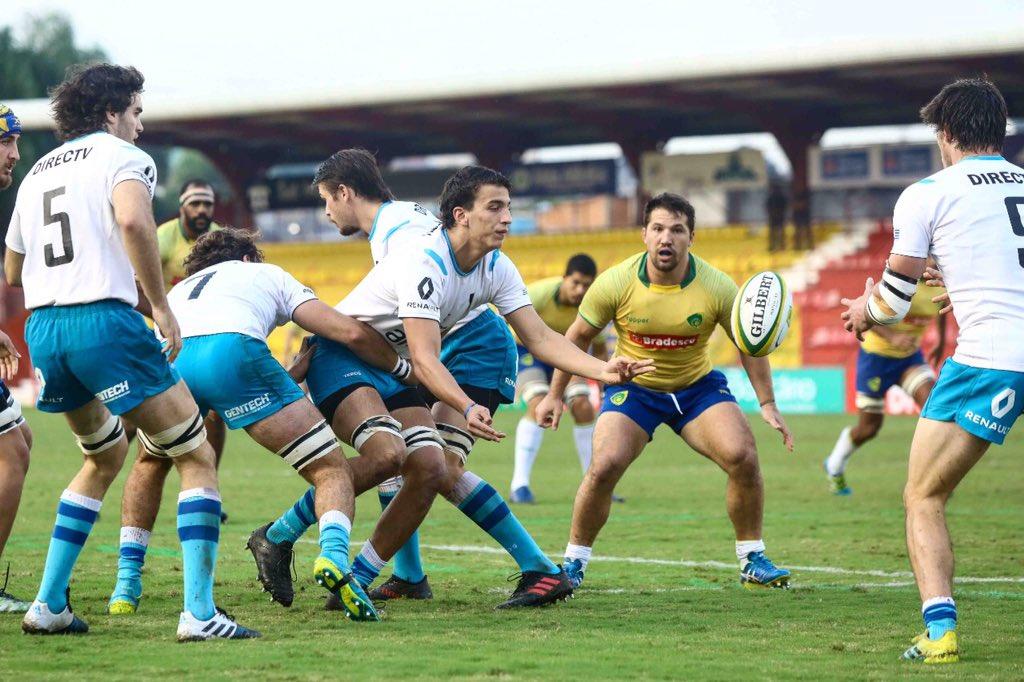 Resultado de imagem para brazil uruguay SAR6N 2019 rugby