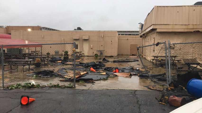 The Courtyard Hotel in Fort Smith is offering shelter to families who aren't able to stay in their homes because of tornado and storm damage. The address for the hotel is 900 Rogers Ave., Fort Smith.