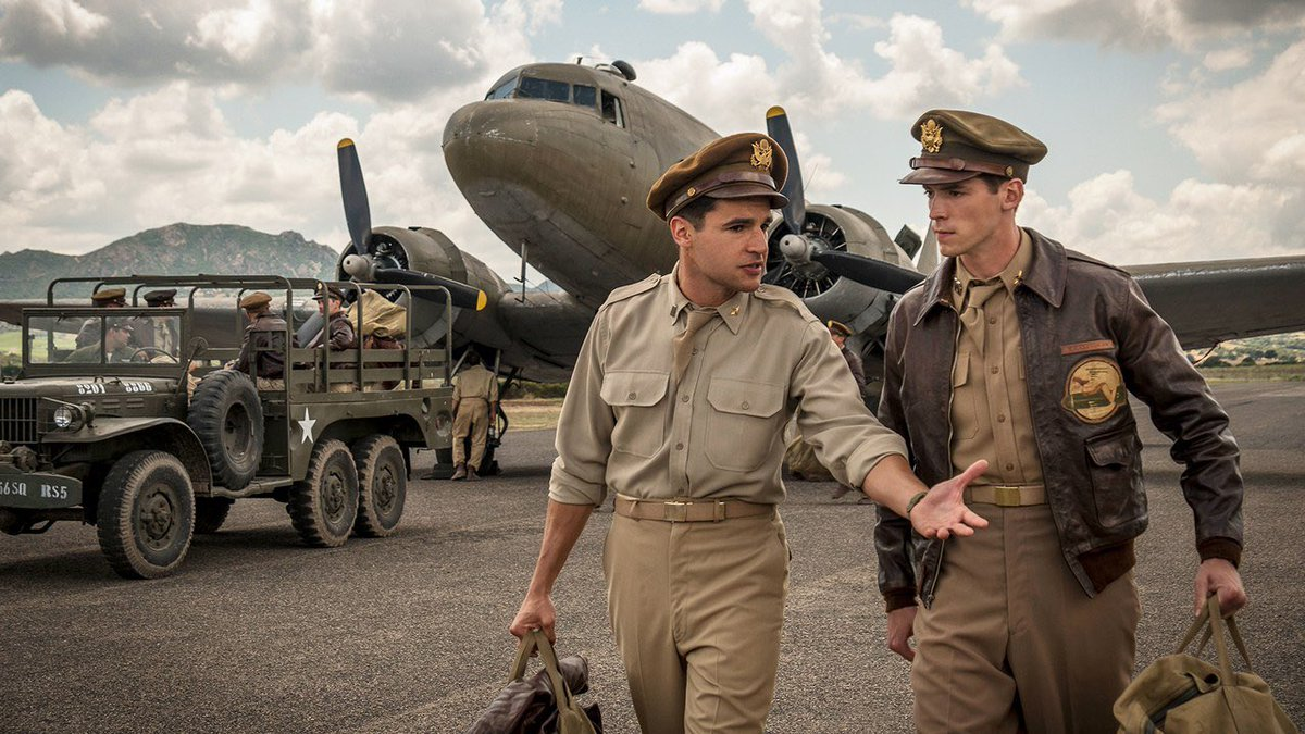 Really digging Catch 22 visuals and dark humor. Who else is watching?#hulu